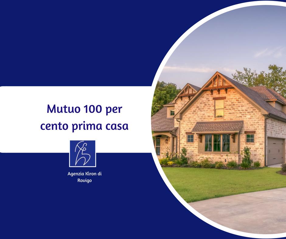 Mutuo 100 per cento prima casa e fondo consap mutui rovigo for Mutuo casa prefabbricata